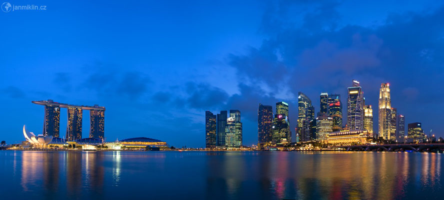 Marina Bay Sands, Art Science Museum a Central Business Discrict